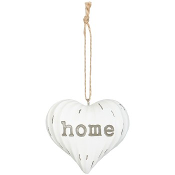 """Home"" Hanging Heart Ornament"