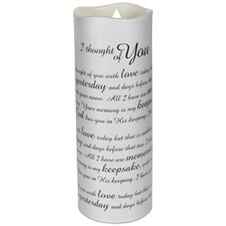 I Thought Of You Sonnet Candle