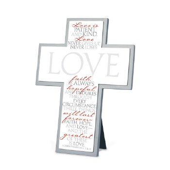 LOVE IT IS WRITTEN CROSS