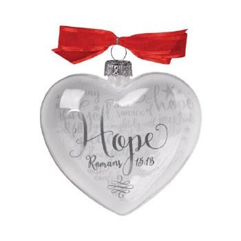 Glass Ornament-Hope