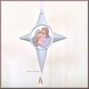 Nativity Ornament w/ Crystal