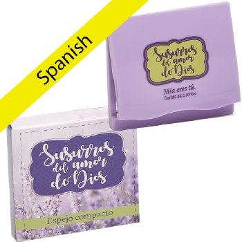 SPANISH COMPACT MIRROR IN GIFT
