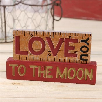 Love You To The Moon Blocks