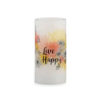 LED Candle - Live Happy