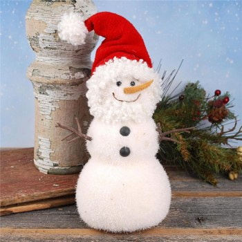 Snowman w/ Santa Beard