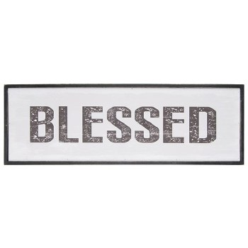 """""""Blessed"""" Framed Wall Décor"""