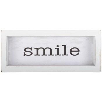 Smile Framed Plaque