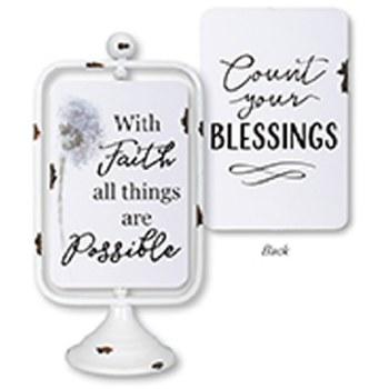 With Faith Reversible Pedestal