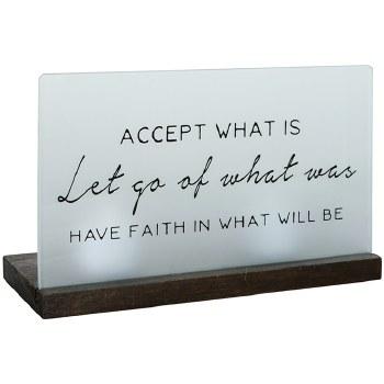 """""""Have Faith"""" Table Décor"""