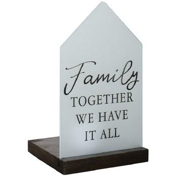 """""""Family"""" Tealight Table Décor"""