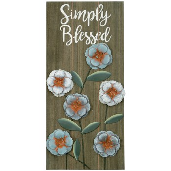 "Simply Blessed"" Wall Décor"