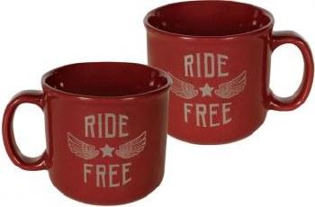Ride Free Guardian Eagle Mug
