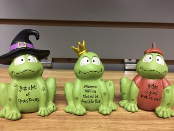 Costume Dressed Frogs