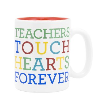 Teachers Touch Hearts Mug