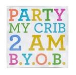 Party My Crib Wall Art