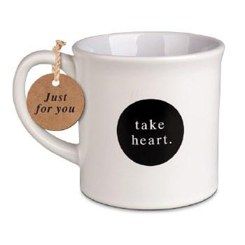 Take Heart mug