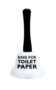 Ring For Toilet Paper Bell