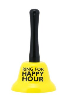 Ring For Happy Hour Krazy Bell