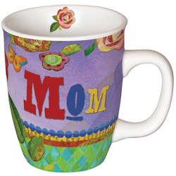 Painted With Love Mom Mug