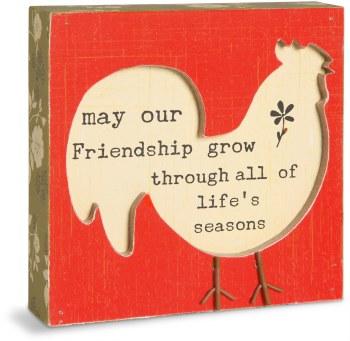 """Friendship Plaques 4"""""""