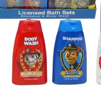 2 Piece Baby Bath Set Paw Patr