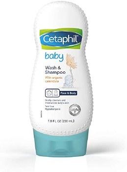 Cetaphil Baby Wash Shamp 7.8oz