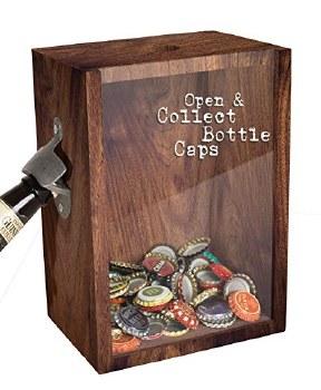 Bottle Opener & Cap Saver Box