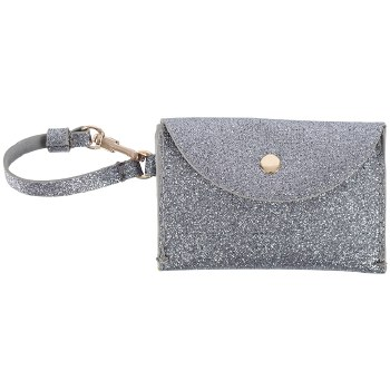 Charlie Card Wallet-Silver