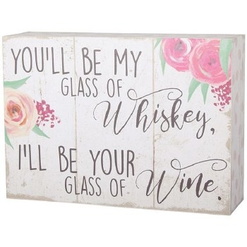 """""""Whiskey And Wine"""" Table Block"""