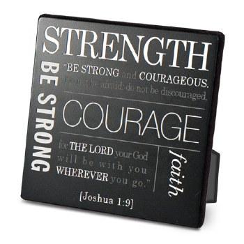 Strength plaque