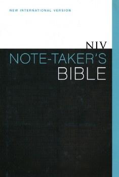 Taker's Bible- NIV Note