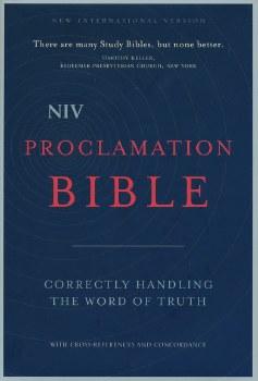 NIV Proclamation Bible