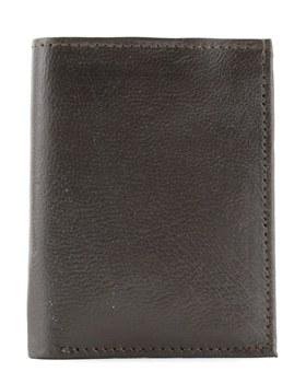 Slim Trifold Wallet Brown
