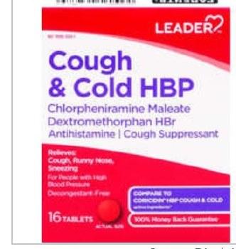 LDR Cough/Cold HBP 16 tab