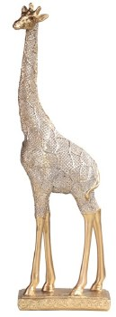 Giraffe in Gold Color