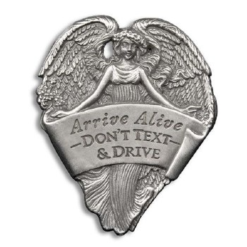 Metal Angel Auto Visor Clip