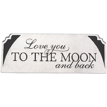 Moon And Back Message Bar