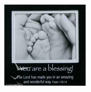 Babys Feet Magnet Pic Frame