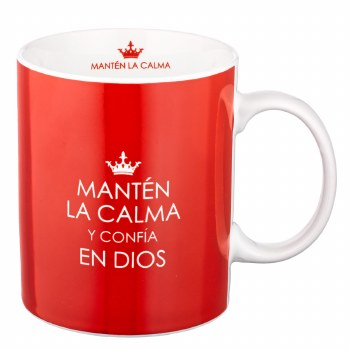 Taza Mantén la calma mug