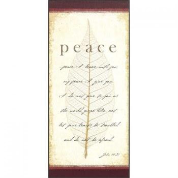 Peace John 14:27 Plaque