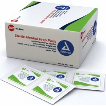 ALCOHOL PREP 200 Med