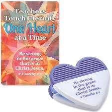 Prayer Card & Clip -Teachers
