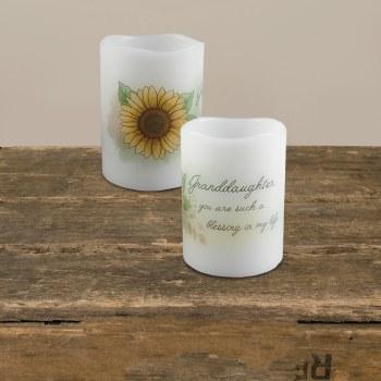 Granddaughter Mini Candle