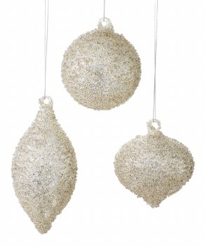 Glass Ball Ornament Assorted