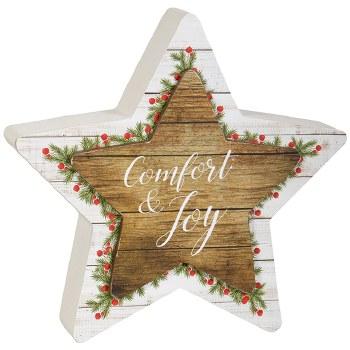 """Comfort"" Star Table Block"