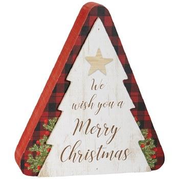 """Merry"" Tree Table Block"