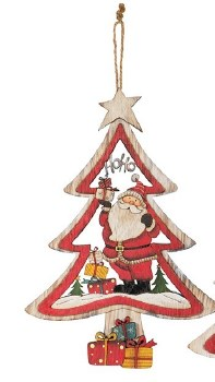 Tree Ornaments Santa Clause