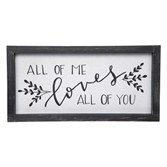 All of Me Framed Linen