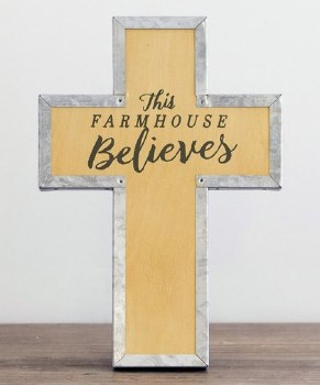 This Farmhouse Believes - Wood