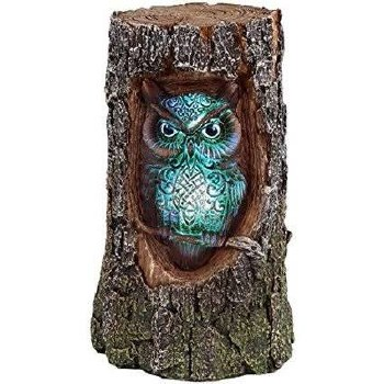 Owl Tree Trunk LED